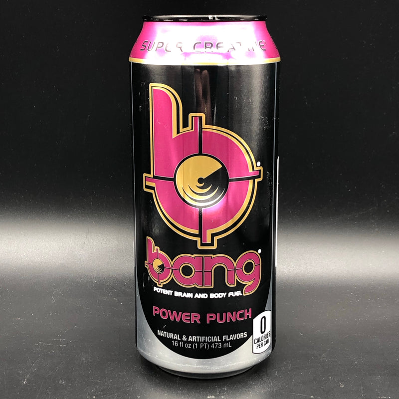 Bang Power Punch - Super Creatine - Zero Calorie Energy Drink 473ml (USA)