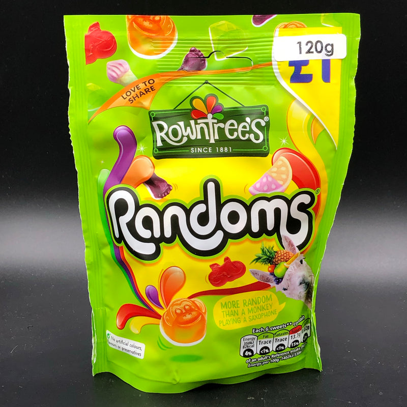 Rowntree's Randoms Share Pack 120g (UK)