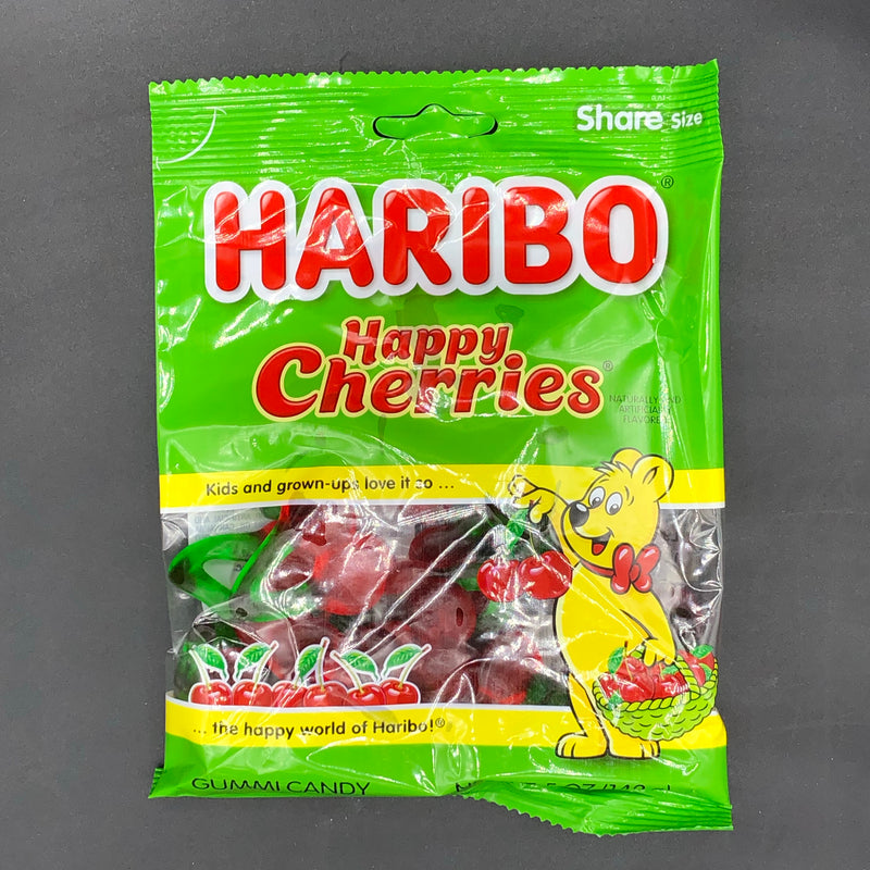 Haribo Happy Cherries - Share Size Gummy Candy 142g (USA)