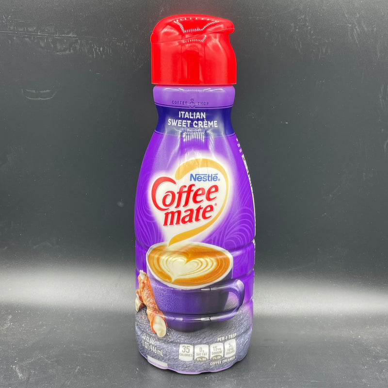 Nestle Coffee Mate Liquid Creamer -  Italian Sweet Creme Flavour 946ml (USA)
