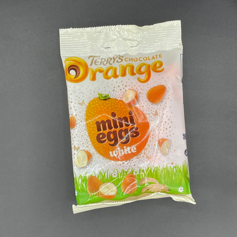 SPECIAL Terry's Chocolate Orange Mini Eggs White 80g (UK) EASTER SPECIAL