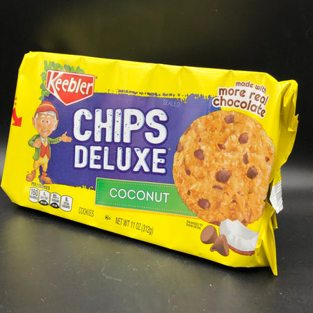 Keebler Chips Deluxe Cookies, Coconut 312g (USA)