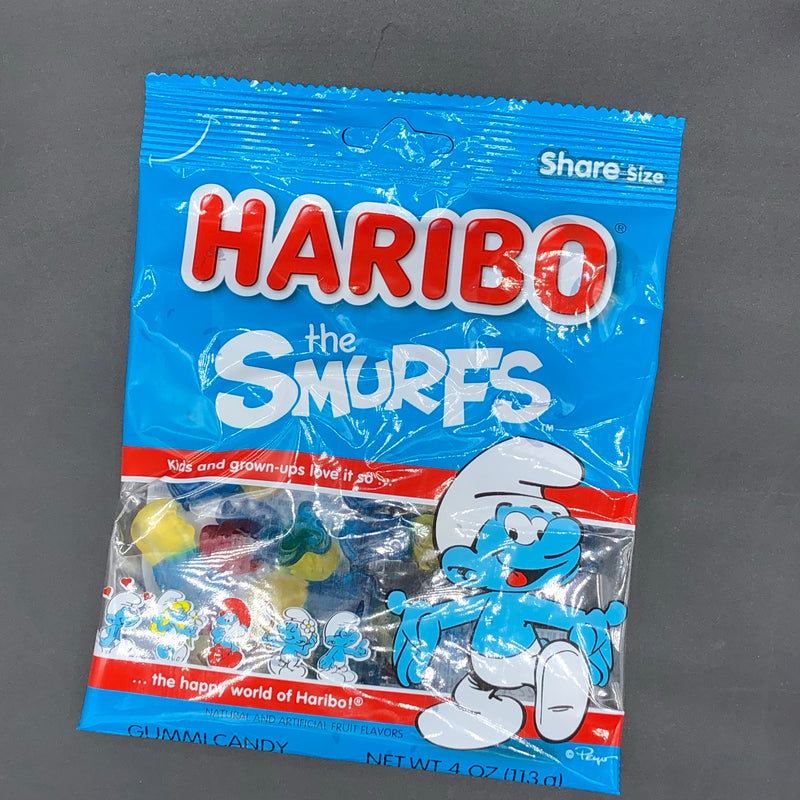 Haribo The Smurfs - Share Size Gummy Candy 113g (USA)