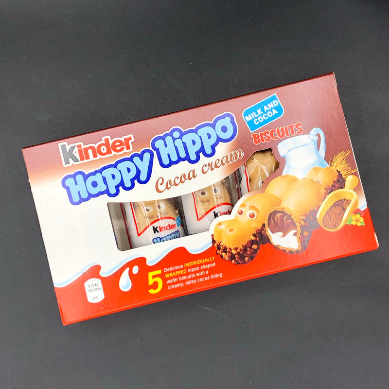 Kinder Happy Hippo Cocoa Cream 5-Pack 103g (UK)