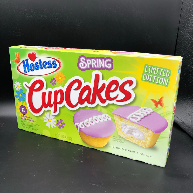 Hostess Cup Cakes Limited Edition Spring Flavour 8 Pack 360g (USA)