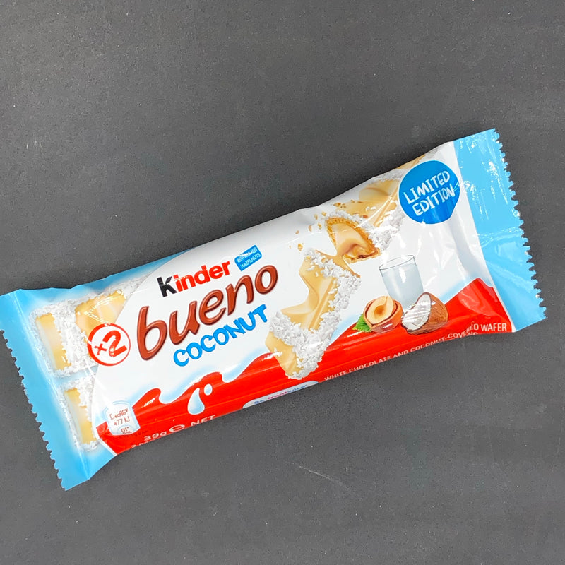 Kinder Bueno Coconut 39g (Aus) LIMITED EDITION