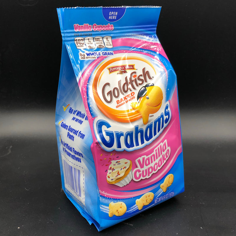 Pepperidge Farm Goldfish Baked Graham Snacks - Grahams Vanilla Cupcake 187g (USA)