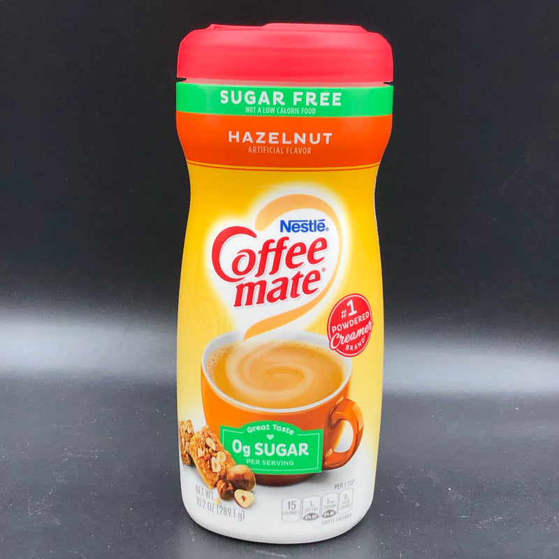Nestle Coffee Mate Coffee Creamer Hazelnut Flavour SUGAR FREE 289g (USA)