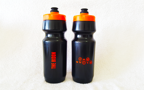 The BIDON (Orange/Black) - 24oz / 700ml - RedWhite Apparel   - 1