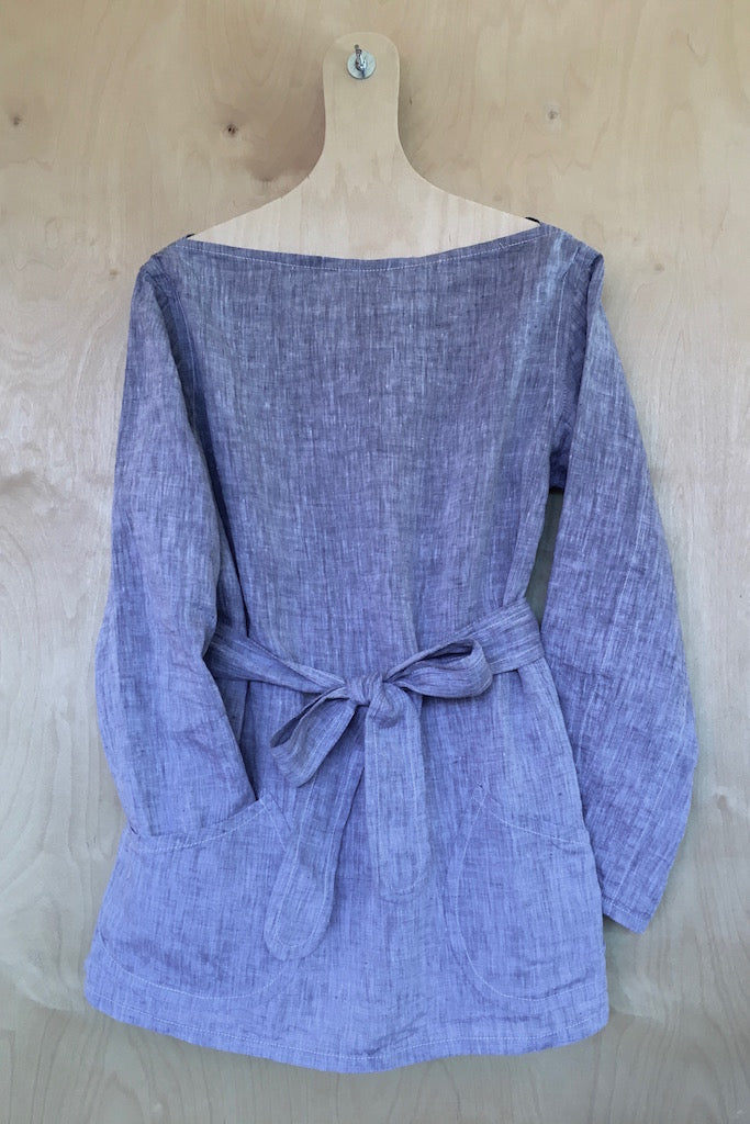 Smock in Chambray Linen