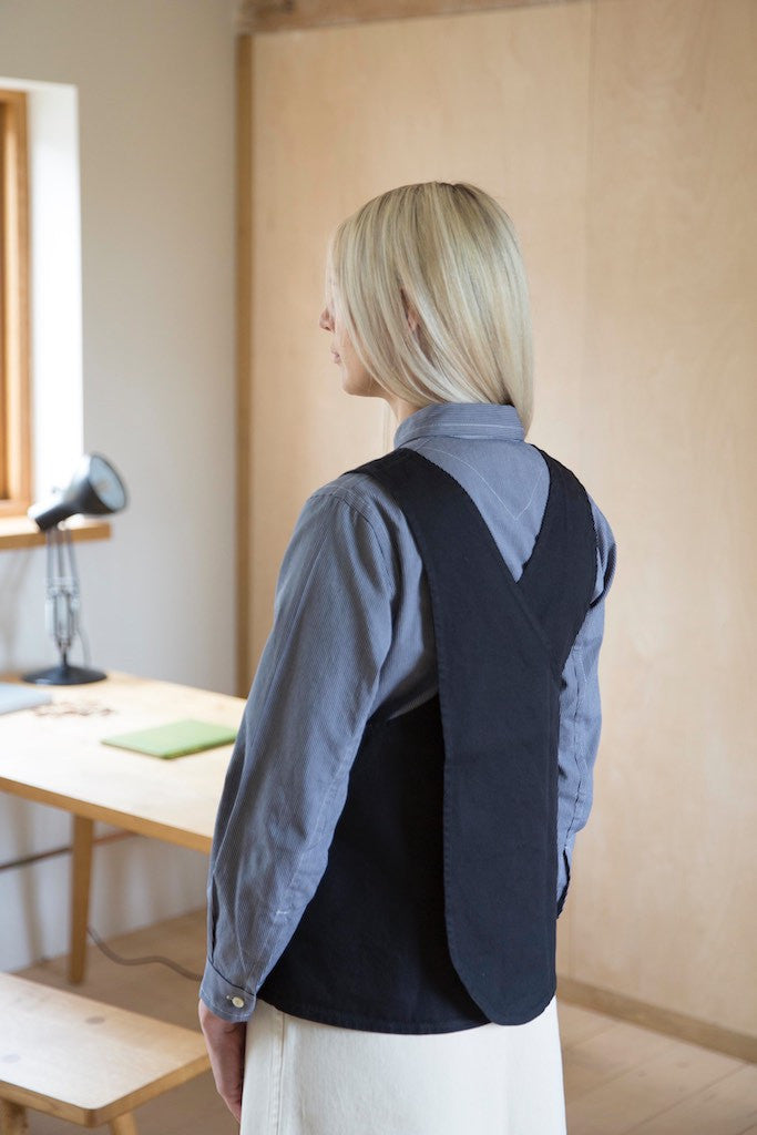 Tabard in Grey Cotton Drill