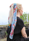 ÖRÆFI SCARF IN ORGANIC COTTON & PEACE SILK