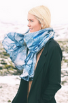 KAFALD SCARF IN BANANA SILK