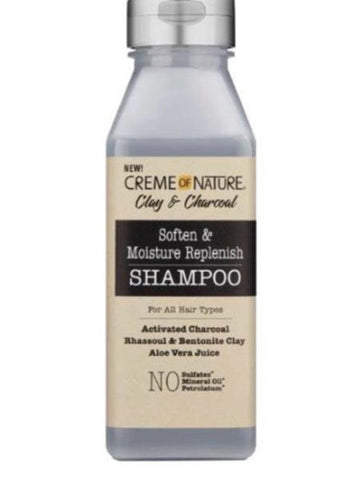 Clay & Charcoal Shampoo  - Soften, Moisturise & Replenish