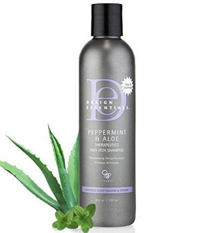 Design Essentials Peppermint & Aloe Therapeutics Anti-Itch Shampoo