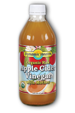Dynamic Health Organic Raw Apple Cider Vinegar with Mother