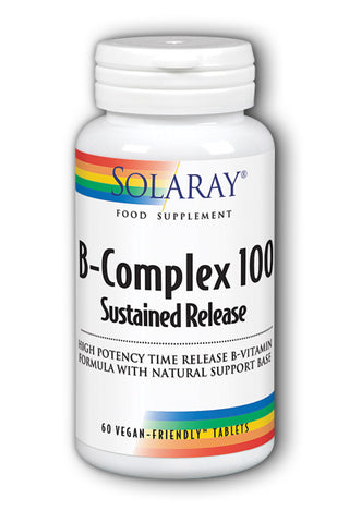 Solaray B Complex 100 Sustained Release