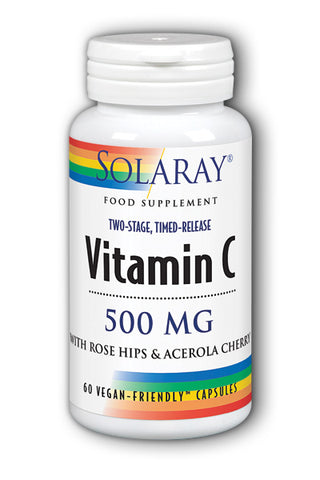 Solaray Timed Release Vitamin C - 500mg