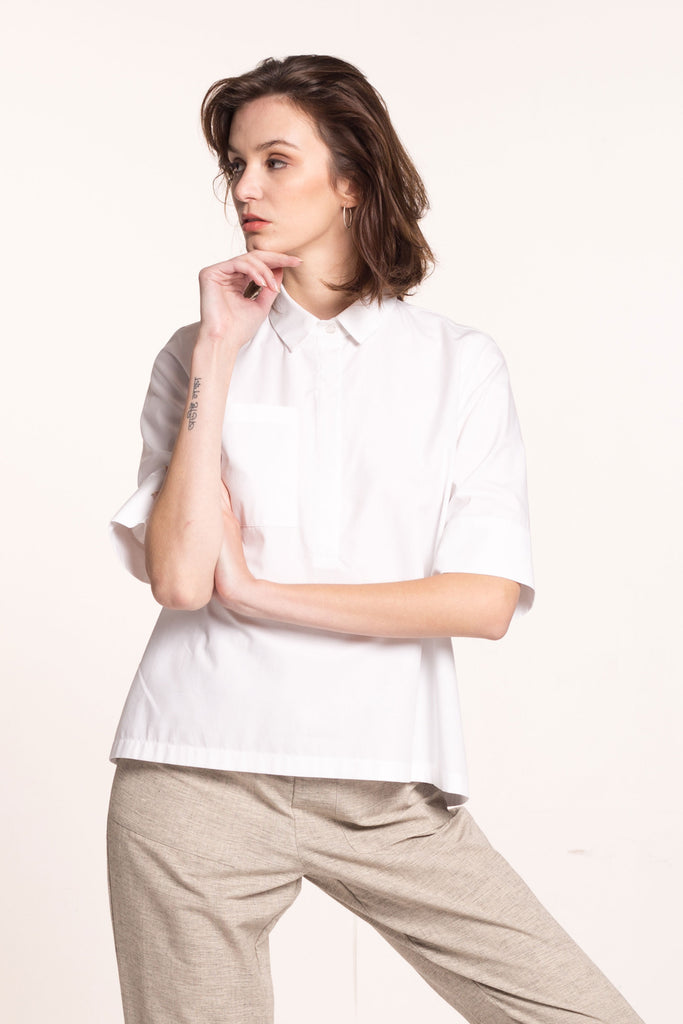 Sustainable A-line shirt _ Mila.Vert