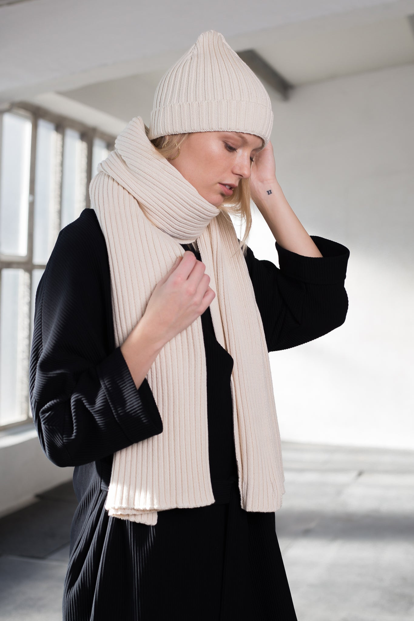 Knitted scarf & hat - Limited seasonal offer