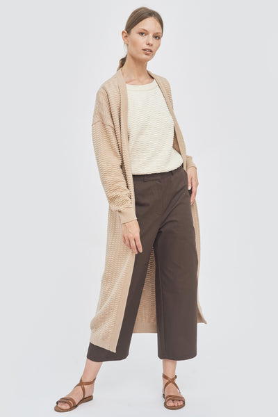 Sustainable Wide-leg trousers _ Mila.Vert