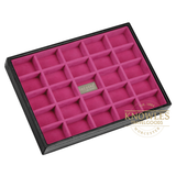 Stackers by LC Designs - Ladies Classic 25 Section Jewellery Tray - Bags and Accessories  - 3