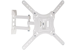 "TV Heavy-Duty Swing Arm Bracket White | 23""-55"""
