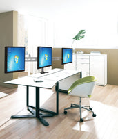 "DESK Dual or Triple Arm Monitor Mount for | 13""-24"""