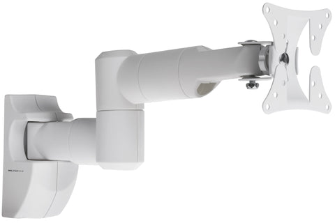"TV Swing Arm Bracket White | 19""-28"""