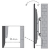 "TV Tilting Bracket White | 32""-55"""