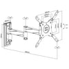 TV Lockable Swing Arm Bracket 13''-42''
