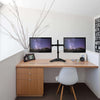 DESK Dual Arm Cantilever Monitor Mount | 13''-32''