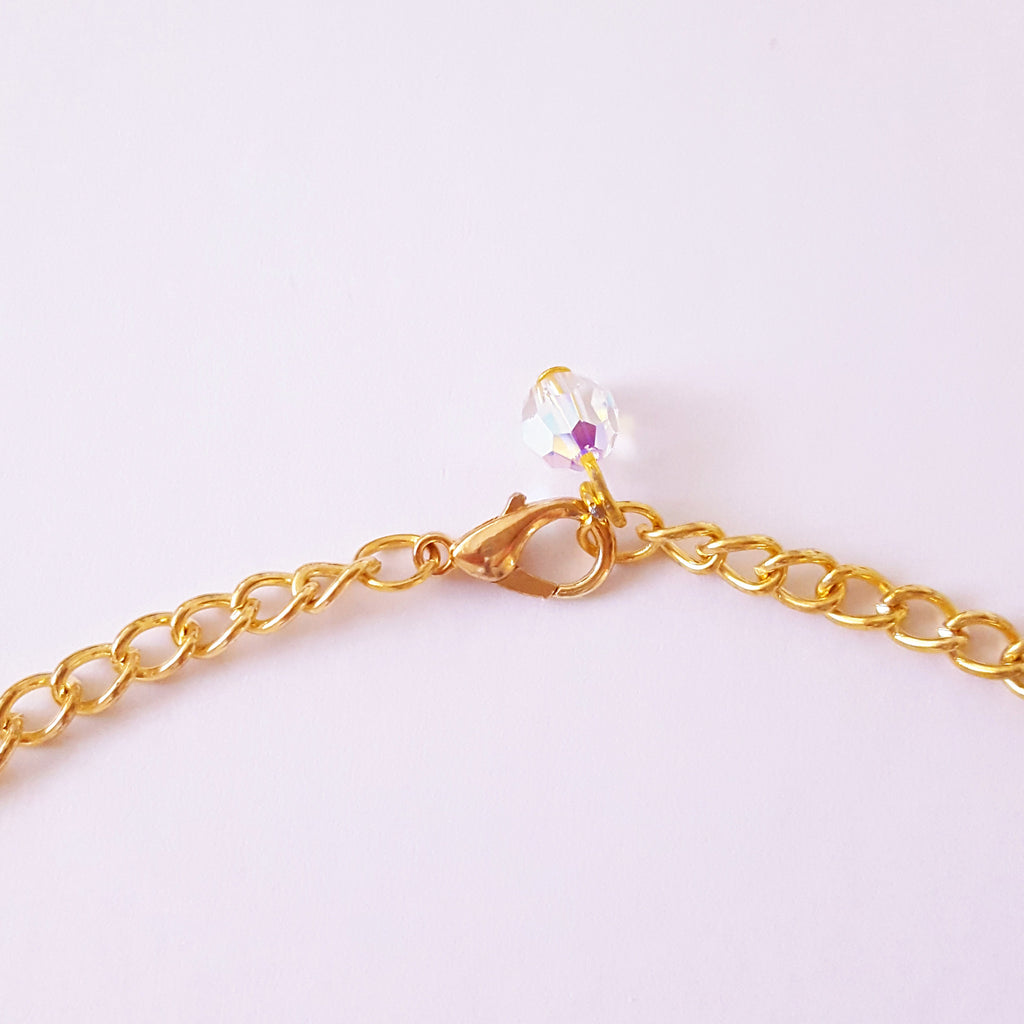 Gold Shell Choker