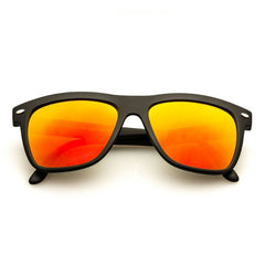 NESA Black + Orange Mirror Lens