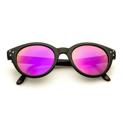 Vitesse Black + Purple Mirror Lens