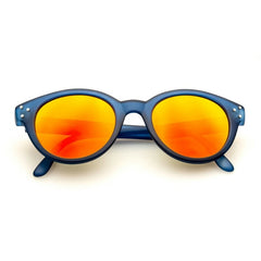 Vitesse Blue Matt + Orange Mirror Lens
