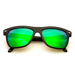NESA Black + Green Mirror Lens