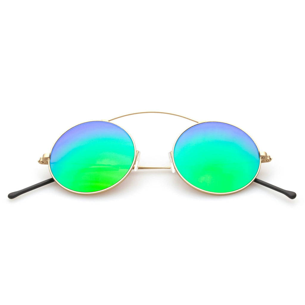 METRO Green Mirror Lens Spektre Sunglasses