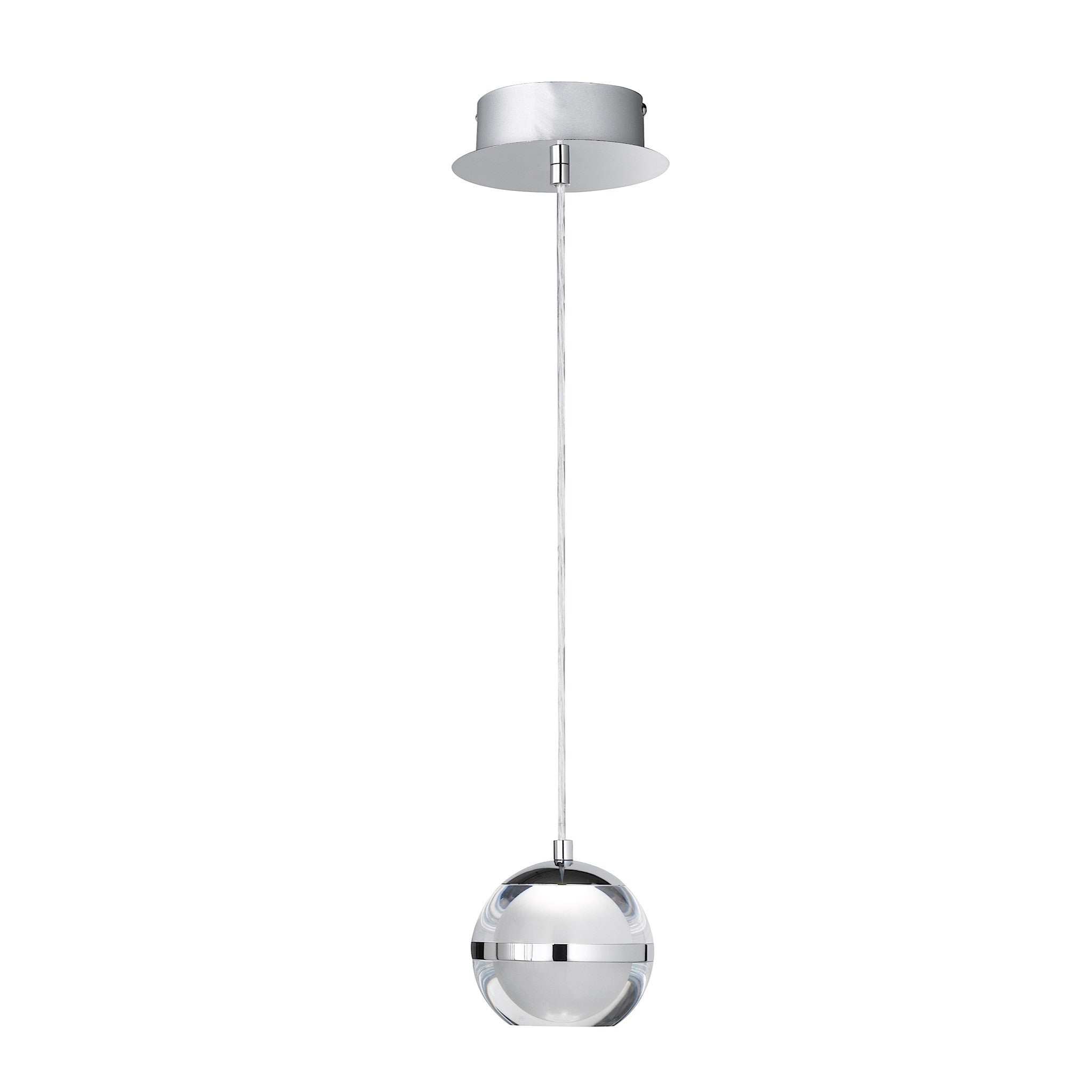 pendant alcon led lighting mount slim foot es fixture linear