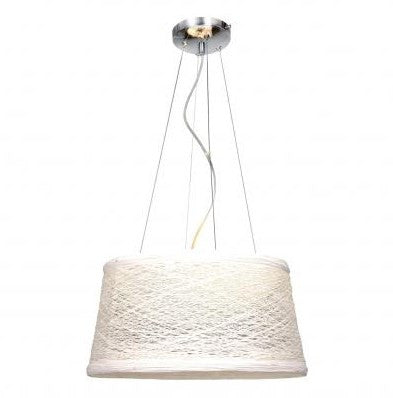 Azzardo candy large white fabric shade pendant light chandelier shack azzardo candy large white fabric shade pendant light md6623m wh mozeypictures Image collections