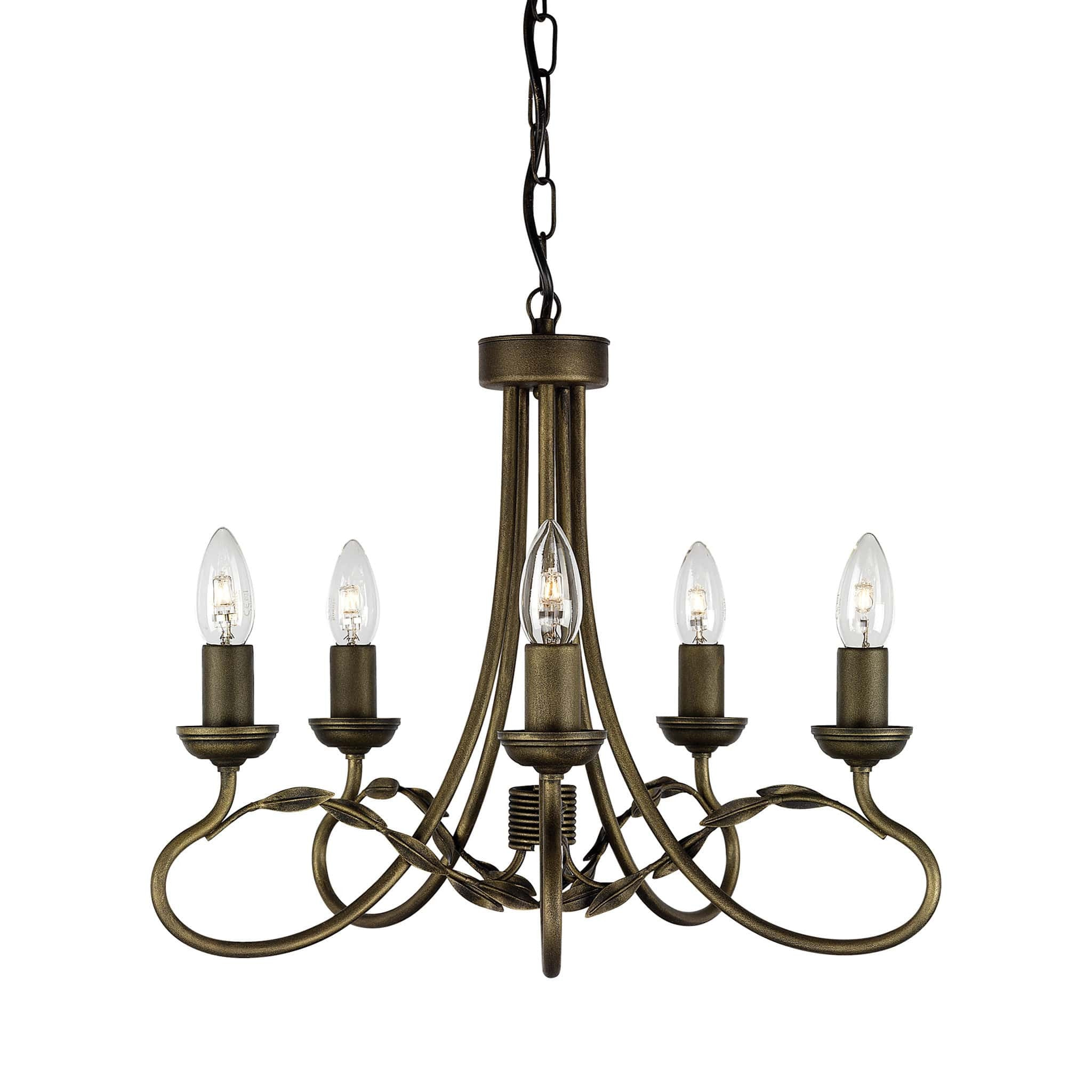 Elstead olivia 5 light black gold candle chandelier chandelier shack elstead olivia 6 light black gold candle chandelier ov5 blkgold mozeypictures Image collections