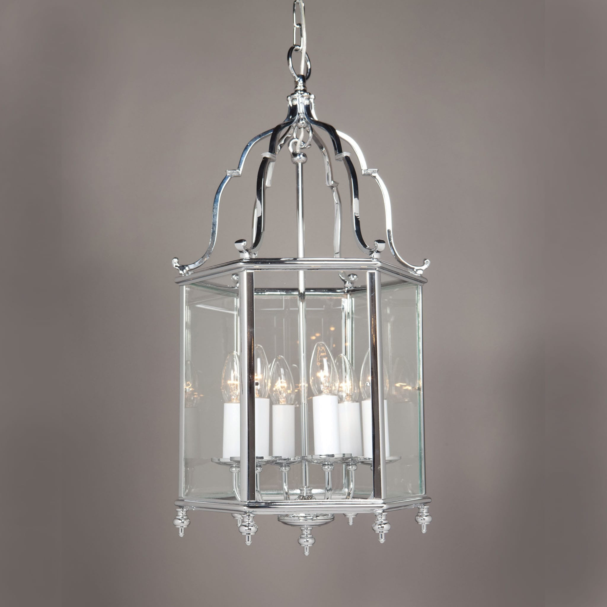 Impex belgravia 6 light chrome silver lantern pendant chandelier shack impex belgravia 6 light chrome silver lantern pendant smbbl00005ch arubaitofo Gallery