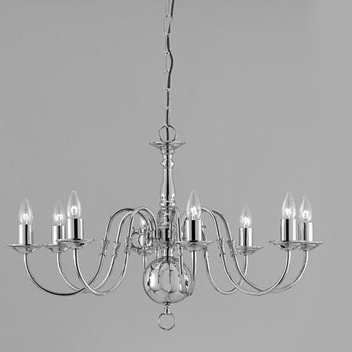 Impex flemish 8 light candle chandelier in gun metal chandelier shack impex flemish 8 light candle chandelier in gun metal bf0035008gm aloadofball Images