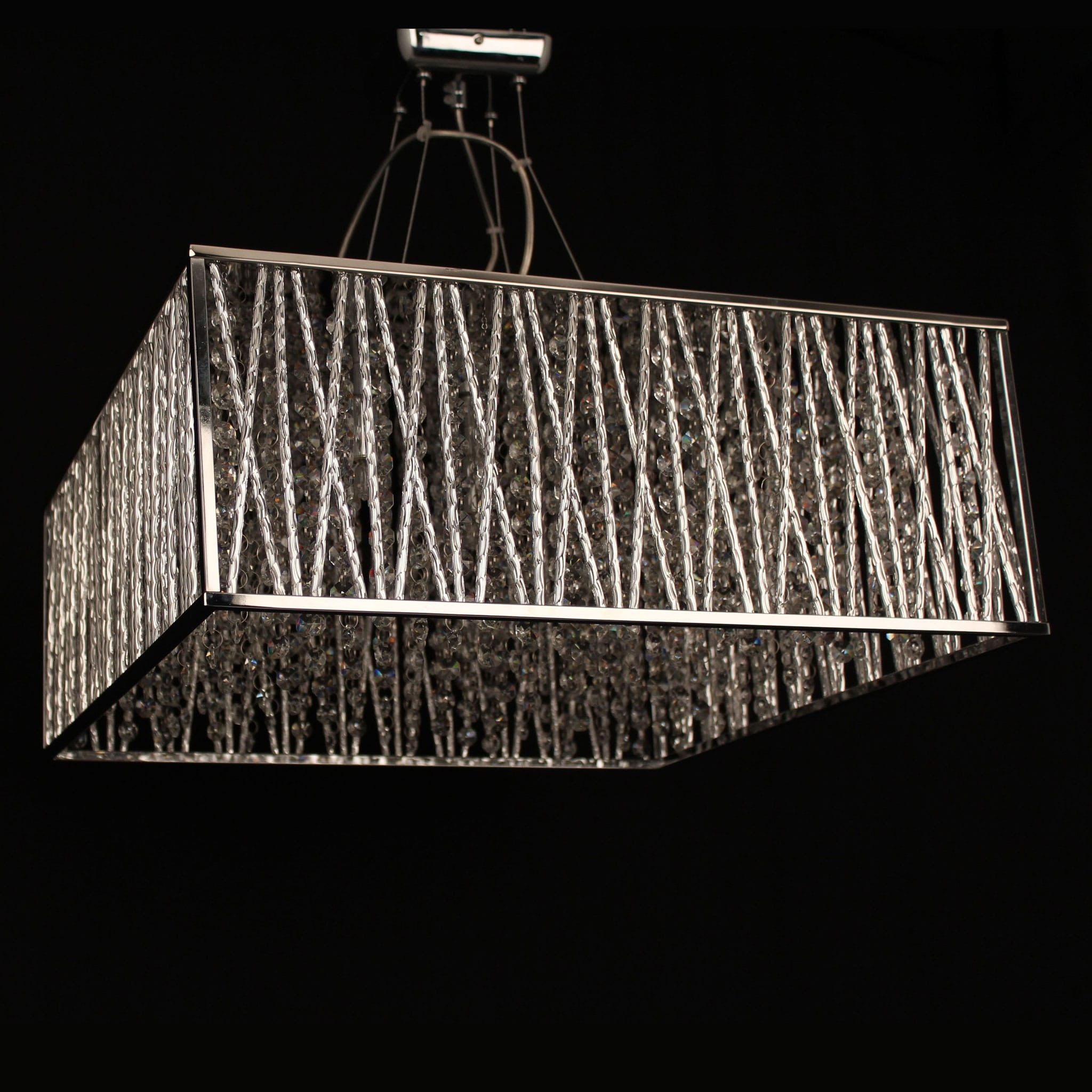 Square Crystal Chandelier – thejots