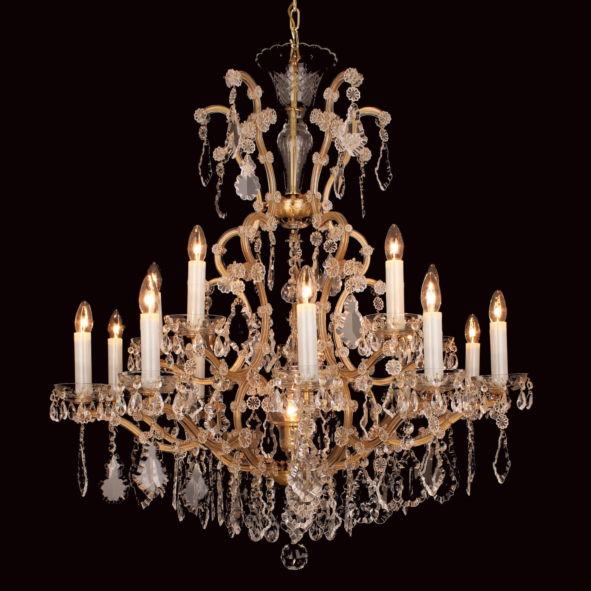 Impex misto 16 light czech preciosa crystal chandelier chandelier impex misto 16 light czech preciosa crystal chandelier cb14531116 aloadofball Gallery
