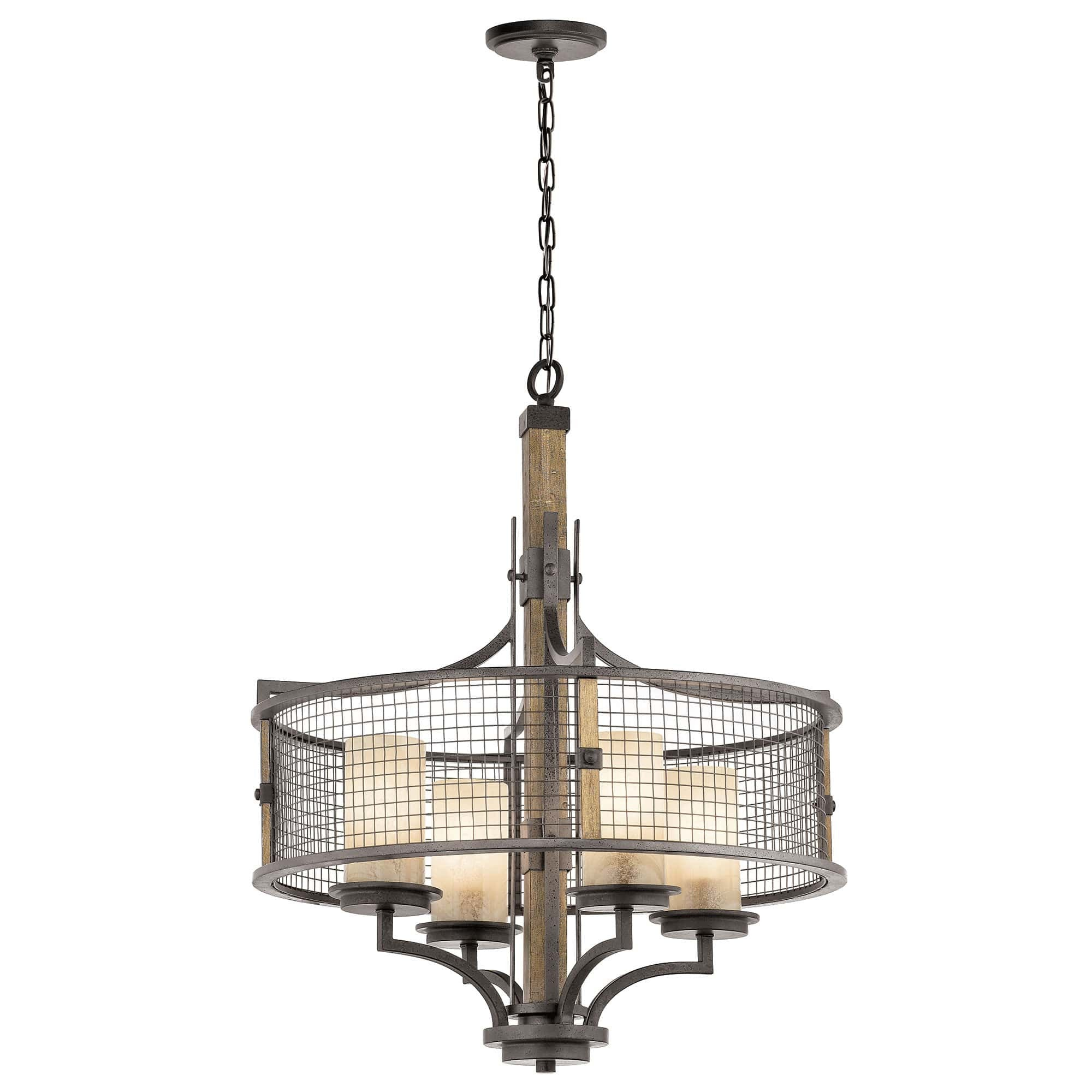 brushed finish zoom keiran chandeliers kichler nickel kic nbsp chandelier loading tall light