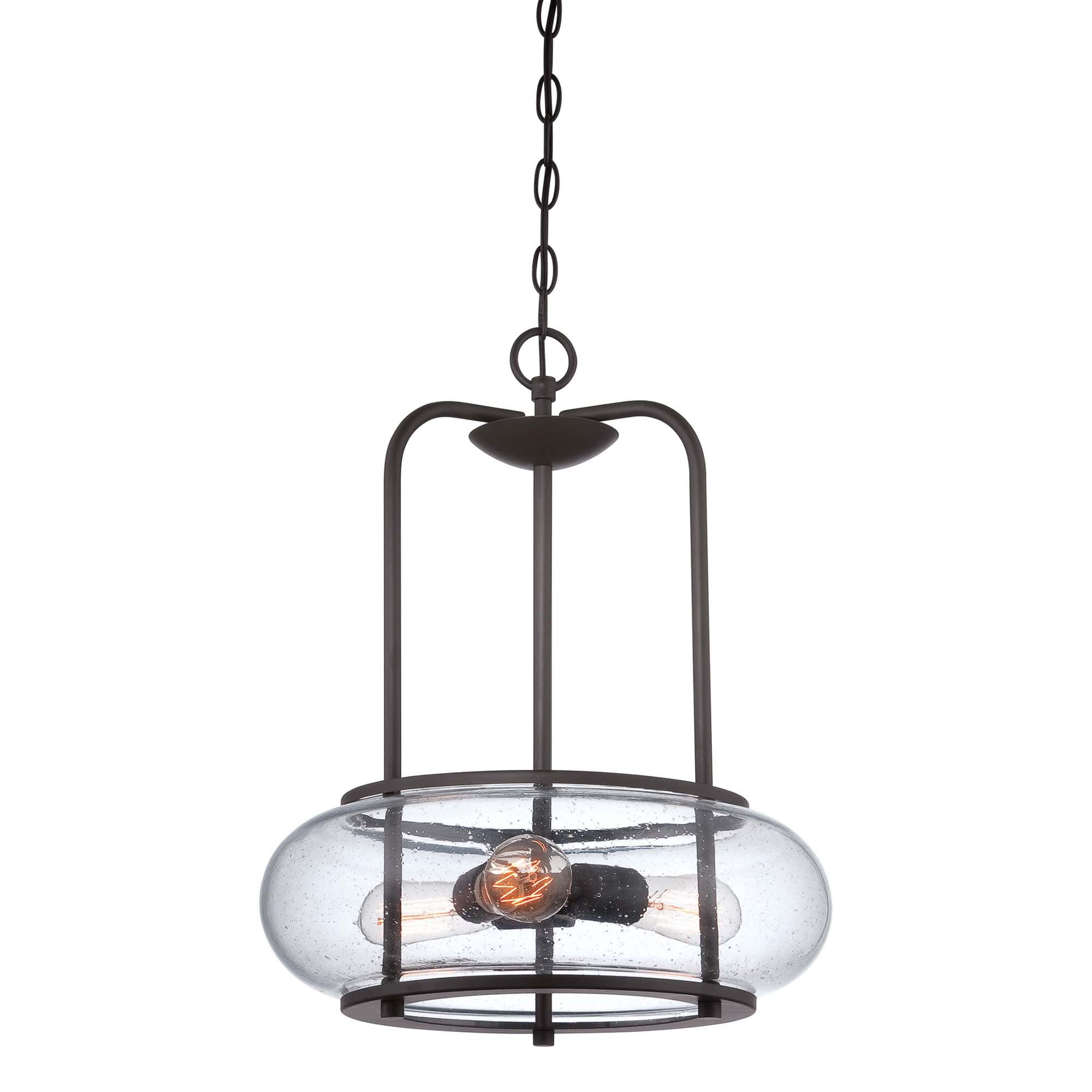 globe glass grey light pendant