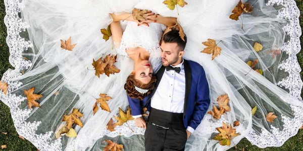 Groom's Accessories for 5 Popular Autumn/Winter Wedding Colour Combos