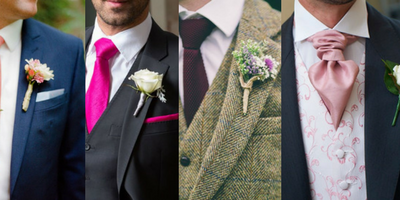 Top 7 Accessory Colour Palettes For The Groom and Groomsmen 2017