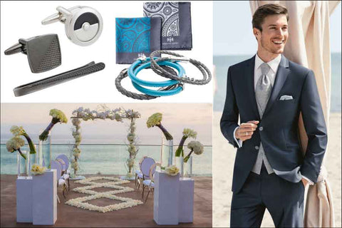 Men's accessories for a Contemporary Wedding by Elizabeth Parker